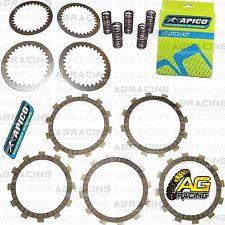 Apico Clutch Kit Steel Friction Plates & Springs For Suzuki RM 80 1997 Motocross