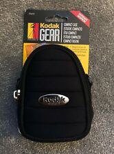 Kodak Gear Compact Camera Bag Case Carry Bag with Strap - Black BRAND NEW