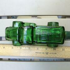 Avon Green Glass Truck- Empty