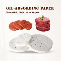 10cm/13cm/15cm 400pcs Oil-absorbing Paper for Hamburger Press Maker Meat Press