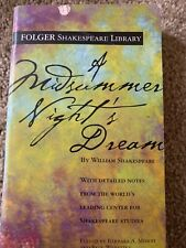 A Midsummer Night's Dream (Folger Shakespeare Library) by Shakespeare, William