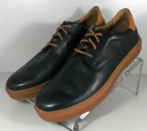 271581 SP50 Men's Shoes Size 9 M Black Leather Lace Up Johnston & Murphy