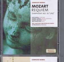 BELOHLAVEK / ROYAL / CARGILL Mozart REQUIEM CD BBC MM262 2006