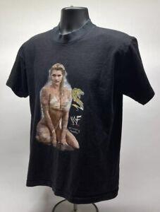 WWF Wrestling Sable Swimsuit Vintage Graphic T Shirt Size Medium Unisex P1