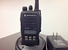 Motorola Ht1250 Aah25kdf9aa5an Charger Antenna No Battery Free Programming