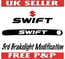 SUZUKI SWIFT 3RD BRAKE LIGHT STICKER MASK CAR VINYL