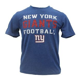 New York Giants Official NFL Kids Youth Size Athletic T-Shirt New with Tags