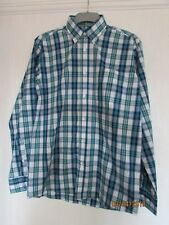 NWT BLUE CHECK LONG SLEEVED SHIRT SIZE SMALL SOUTHBAY