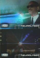 Men In Black 2 Full 2 Card Neuralizer Foil Cards Chase Set from Inkworks 2002