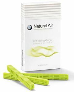 Sale !! Original BMW Natural Air Refill Kit Stick Refreshing Ginger 83122466399