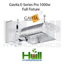 Gavita Pro E Series 1000 DE UK Double ended Lamp full fixture 1000w