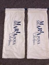 "Cole Haan Maria Sharapova Dust Shoe Bag 15""X 6.5"".-A383"