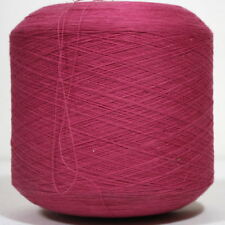 Wolle Garn PINK Baumwolle Stricken Kone Spule 1 kg  /N04