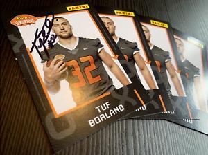 Autographed Reese's Senior Bowl Player Card - Tuf Borland