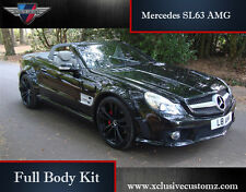 MERCEDES SL63 AMG FULL BODY KIT PER MERCEDES SL R230