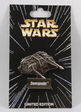 Disney Pins Star Wars  **  SNOWSPEEDER **  LIMITED ED Single NEW on Card BIG!!!