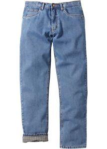 Thermo-Jeans für Herren mit weichem Flanellfutter (John Baner)