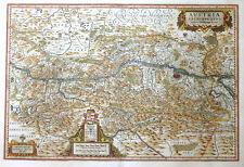 ÖSTERREICH BÖHMEN UNGARN WIEN AUSTRIA ARCHIDUCATUS WOLFGANGO LAZIO BLAEU 1635