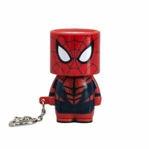 Avengers Spider-Man Look-Alite LED Light Up Keyring Keychain - Torch Marvel