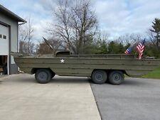 1945 Dukw for sale, original, World War 2, Amphibious 6x6, Gmc, running