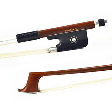 Master PERNAMBUCO Cello Bow. Ebony Frog PURE SILVER Tip Fitted.