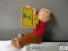 Curious George clip-on plush; Applause NEW