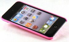 Hard back cover Pink case for iPod Touch 4G screen guard