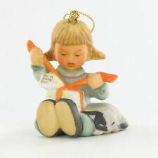 New Hummel Ornament - Little Gift Wrapper - 1997