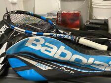 US Open Game Used Tennis Racquet / Garbine Muguruza / Babolat Tennis Racquet/Bag