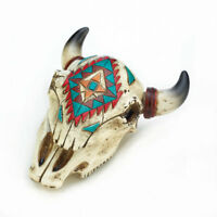 Millwood Pines Aztec Ox Skull Accessory Box