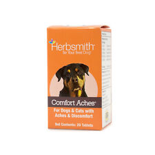 Herbsmith Comfort Aches for Dogs and Cats 20 count Free Shipping