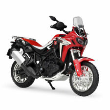 1:18 Honda Africa Twin DCT Motorrad Modell Die Cast Spielzeug Model Sammlung Rot