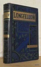 LONGFELLOW POETICAL WORKS Routldege 83 illustrations BE reliure