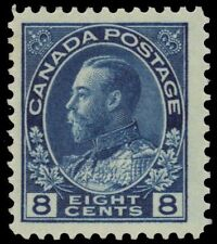 "CANADA 115 - King George V ""Admiral"" Blue 1925 Dry Print (pa74837) $60"