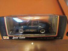 1989 Porsche 911 Speedster Maisto Diecast 1:18 Dark Green NEW