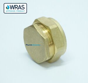 Brass Compression Stop End Cap End 8mm 10mm 12mm 15mm 22mm 28mm 35mm 42mm 54mm