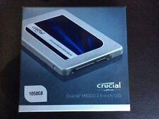 Crucial MX300 1 tb sata interne 2.5 pouces solid state drive avec 9.5 mm adaptateur