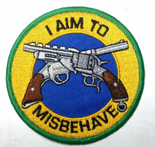 "Firefly Serenity ""I Aim to Misbehave Embroidered Patch -new"