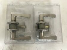 Set Of Two Schlage Hall / Closet Door Handles, Brushed Nickel, Free Shipping!