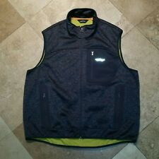ORVIS Vest Full Zip Fishing Hunting Outdoor Casual Pockets Polyester Gray  XL
