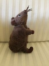 """New listing Ikea Brown Mouse Gosig Mus Mini Soft Mice Rat Soft Toy Animal Play 5.5"""" 14 cm"""
