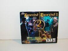 Mystery Masters 2 Pk Exorcist I & II (PC CD Rom Game, 2012) New Sealed
