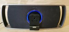 Philips Revolution Motorized Portable Speaker IPhone/iPod Dock SBD8100/37 WORKS