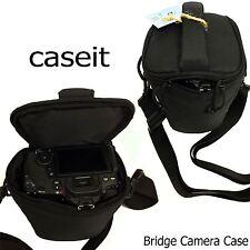 Caseit Bridge Medium Camera Case DSLR SLR Premium Shoulder Bag Black RRP £24.99