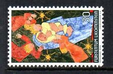 Liechtenstein Gomma integra, non linguellato 1972 sg560 di Natale