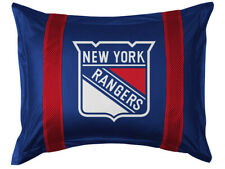 New York Rangers Nhl Jersey Standard Pillow Sham New Lr - no stripes