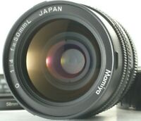 [N Mint + Hood] Mamiya G 50mm f/4 L w/ Cap For New Mamiya 6 from JAPAN 148