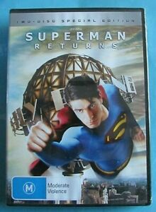 SUPERMAN RETURNS DVD 2 Disc Special Edition NEW SEALED Region 4 see below