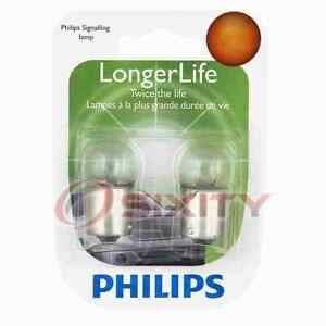 Philips License Plate Light Bulb for Bertone X-1 9 1984-1989 Electrical mk