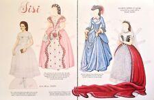 Elisabeth, Empress Of Austria  Paper Doll,1990, By Brenda Sneathen Mattox, Mag.